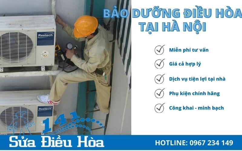 Dịch vụ bảo dưỡng điều hòa tại Hà Nội uy tín - giá rẻ
