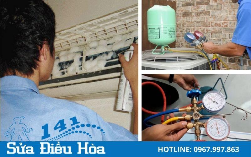 Bảo dưỡng điều hòa - Nạp gas điều hòa giá cả phải chăng và chất lượng
