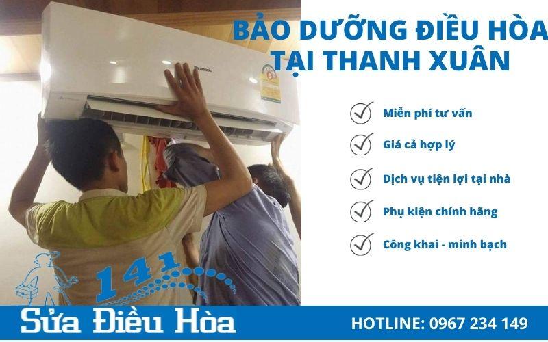 Bảo dưỡng điều hòa tại Thanh Xuân