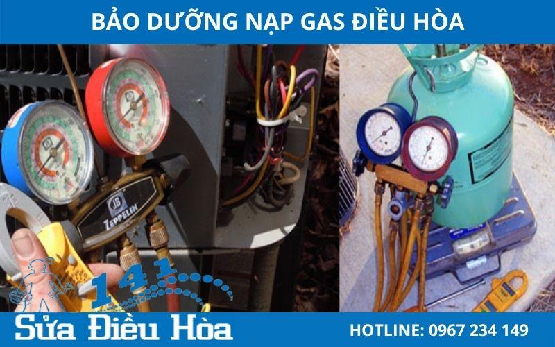Bảo dưỡng nạp gas giá rẻ trên thị trường