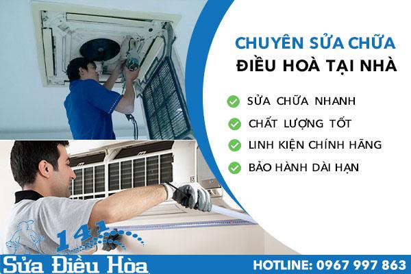 dịch vụ sửa chữa điều hòa tại Phạm Hùng