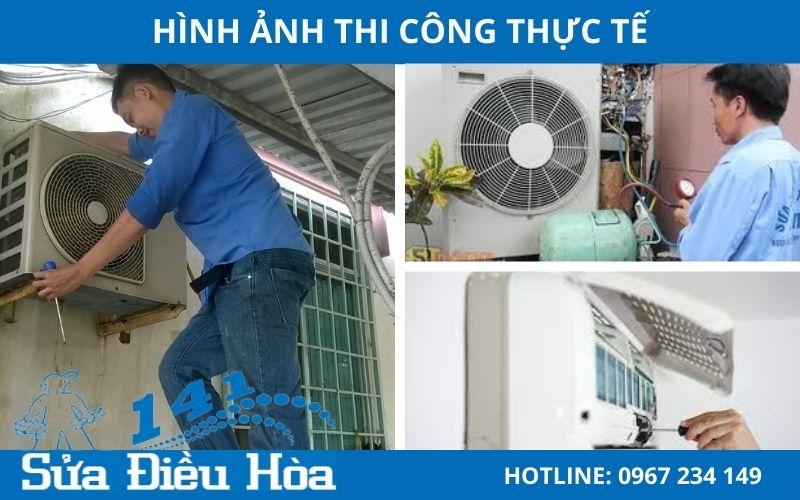 Quy trình bảo dưỡng điều hòa chuyên nghiệp tại Định Công