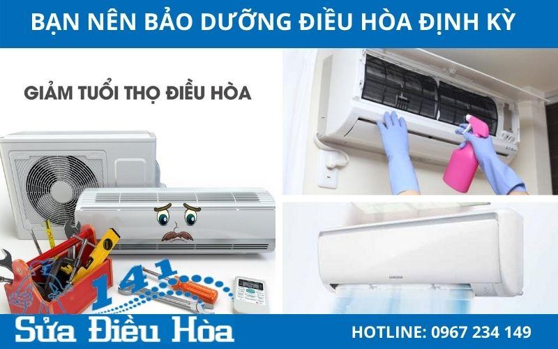 bảo dưỡng điều hòa định kỳ sẽ rất có lợi cho máy nhà bạn