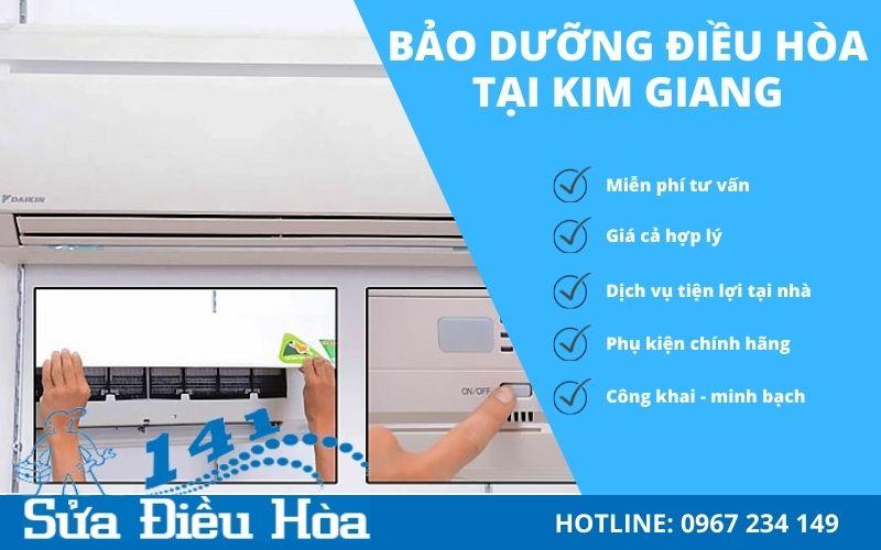 Dịch vụ bảo dưỡng điều hòa tại Kim Giang uy tín - chất lượng số 1 Hà Nội