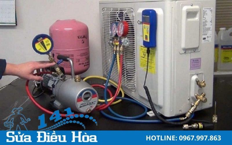 Bảo dưỡng nạp gas điều hòa