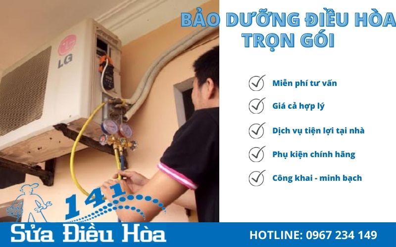 Hãy đến với Sửa Điều Hòa 141 - Dịch vụ bảo dưỡng điều hòa chuyên nghiệp tại Hà Nội