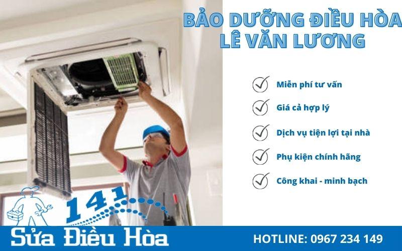 Dịch vụ bảo dưỡng điều hòa tại Lê Văn Lương uy tín và chất lượng số 1