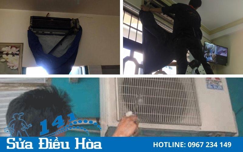Quy trình bảo dưỡng điều hòa tại Lê Văn Lương của suadieuhoa141.com