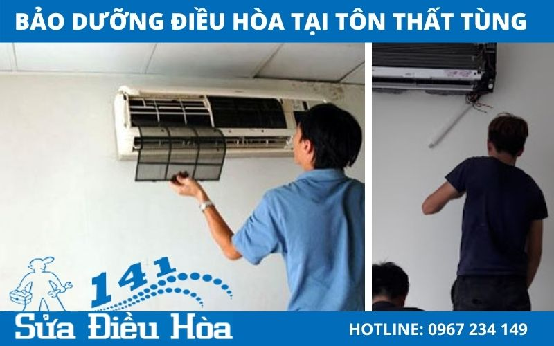 Dịch vụ bảo dưỡng điều hòa tại Tôn Thất Tùng siêu tốc với chi phí thấp nhất