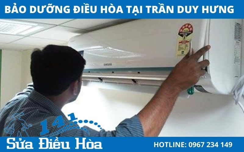 Dịch vụ bảo dưỡng điều hòa tại Trần Duy Hưng siêu tốc và uy tín nhất