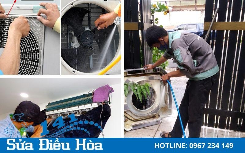 Quy trình bảo dưỡng điều hòa tại Hoàng Hoa Thám siêu tốc và hiệu quả