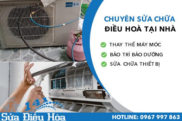 bảo dưỡng điều hòa tại Minh Khai