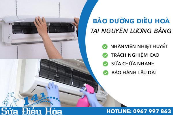 Bảo dưỡng điều hòa tại Nguyễn Lương Bằng