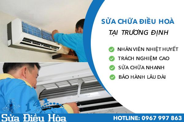 Sửa chữa điều hòa tại Trương Định LH 0967 997 863