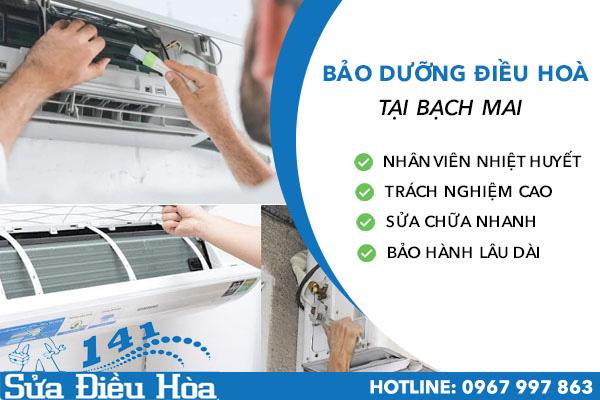 Bảo dưỡng điều hòa tại Bạch Mai