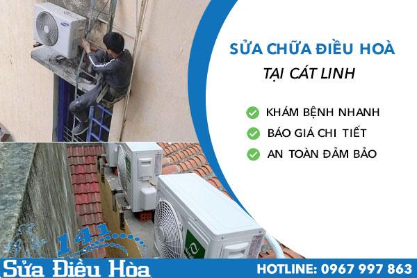 Chuyên cung cấp trọn gói dịch vụ sửa chữa điều hòa tại Cát Linh