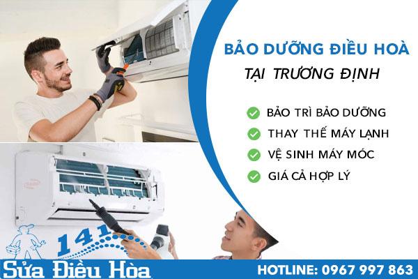 Bảo dưỡng điều hòa tại Trương Định