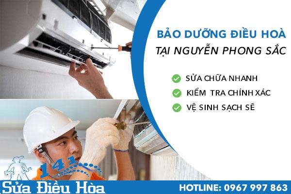 Bảo dưỡng điều hòa tại Nguyễn Phong Sắc