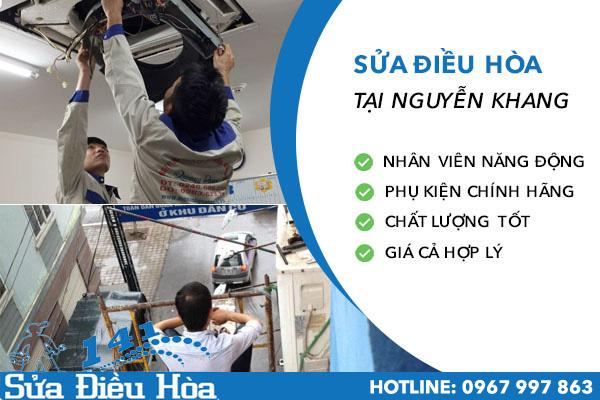 Sửa chữa điều hòa tại Nguyễn Khang