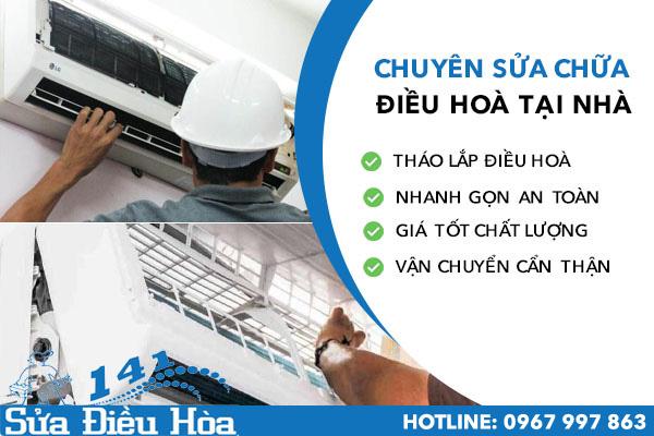 Sửa điều hòa tại phường Lê Đại Hành