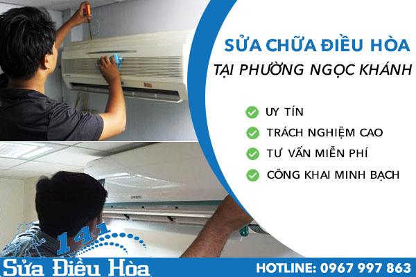 Dịch vụ sửa điều hòa tại phường Ngọc Khánhgiá rẻ Uy Tín