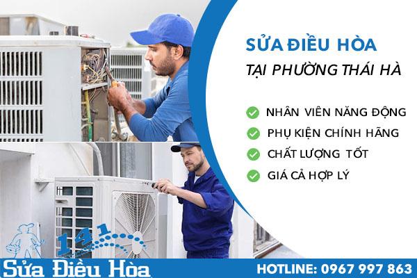 sửa chữa điều hòa tại Phường Thái Hà