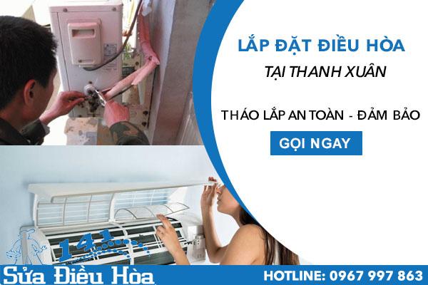 Lắp đặt điều hòa tại quận Thanh Xuân