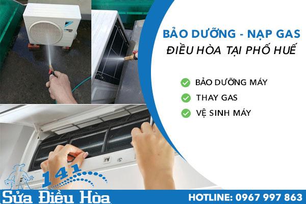 bảo dưỡng nạp gas điều hòa tại Phố Huế
