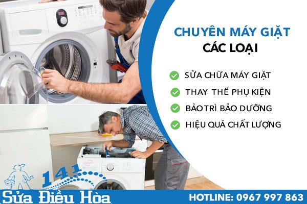 sửa máy giặt tại quận Cầu Giấy
