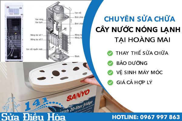 Sửa cây nước nóng lạnh tại quận Hoàng Mai
