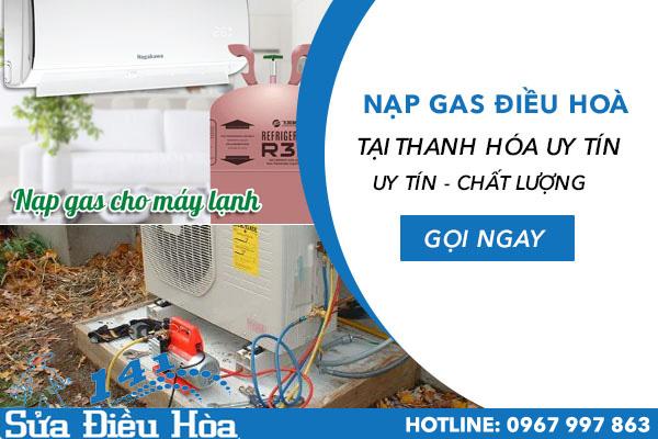 nạp gas điều hòa tại Thanh Hóa