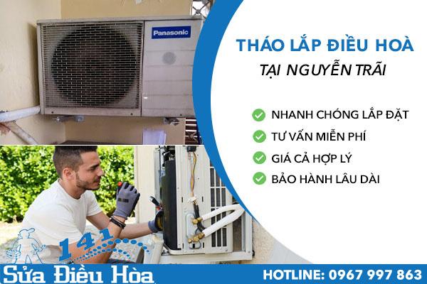 Tháo lắp điều hòa tại Nguyễn Trãi