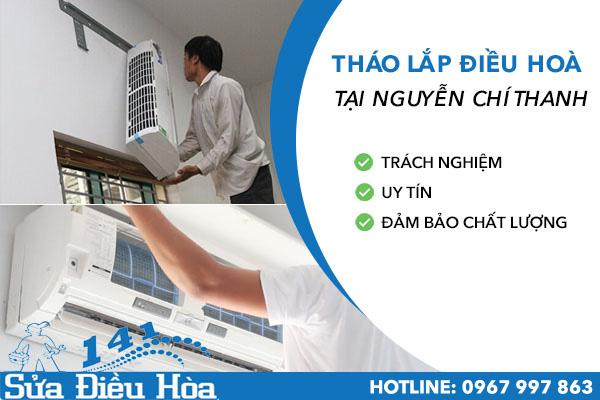 tháo lắp điều hòa tại Nguyễn Chí Thanh