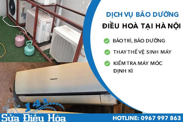 nạp ga điều hoà tại Hào Nam
