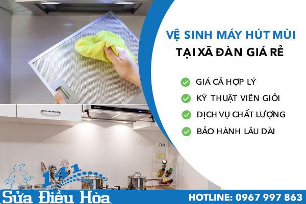 Vệ sinh máy hút mùi Xã Đàn
