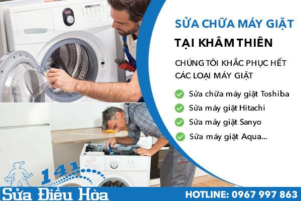 sửa chữa máy giặt tại Khâm Thiên