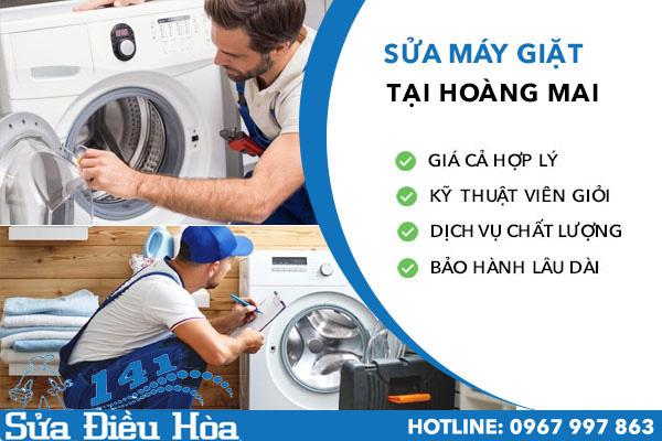 sửa máy giặt tại Hoàng Mai