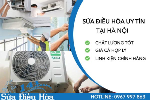 Sửa điều hòa uy tín tại Hà Nội