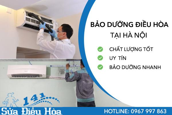 dịch vụ bảo dưỡng điều hòa tại Sửa điều hòa 141